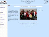 swinging-pinguins.de Webseite Vorschau