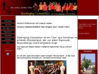 swinging-connection.de Webseite Vorschau