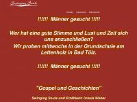 swinging-souls.de Webseite Vorschau