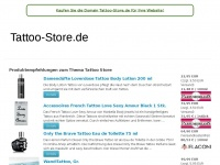 Tattoo-store.de