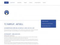 tcfairplay.ch Webseite Vorschau