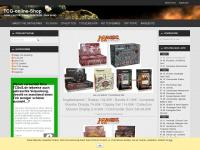 tcg-online-shop.de Webseite Vorschau