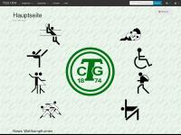 tcg1874.de Webseite Vorschau