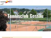 tcgossau.ch Webseite Vorschau