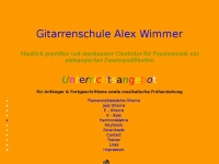 gitarrenschule-alexwimmer.de