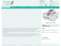 tnimedical.de Webseite Vorschau