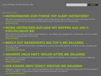 top-sleep-matratzen.de