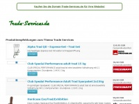 trade-services.de Webseite Vorschau