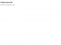 trade-unions.de Webseite Vorschau