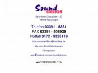 soundedition.de
