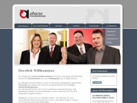abacus-zeitarbeit.de Webseite Vorschau