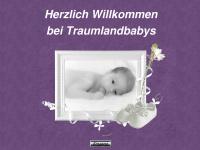 traumlandbabys.de Webseite Vorschau