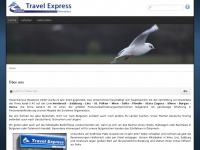 travel-express.at Webseite Vorschau