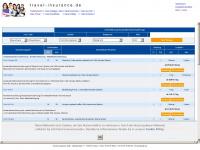 travel-insurance.de Webseite Vorschau