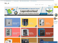 tresor-online.de Webseite Vorschau