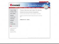 tresor-schiewek.de Webseite Vorschau