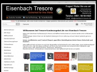 tresor-sonderangebot.de Webseite Vorschau