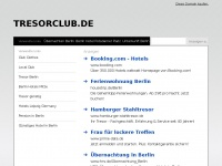 tresorclub.de Webseite Vorschau