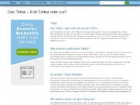 tribal.at Webseite Vorschau