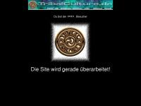 tribalculture.de Webseite Vorschau