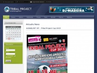 tribal-project.at Webseite Vorschau