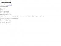 tribalismus.de Webseite Vorschau