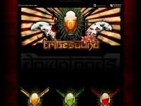 tribe-sound.de Webseite Vorschau