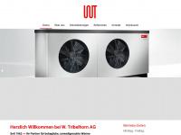 tribelhorn-ag.ch Webseite Vorschau