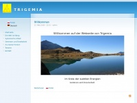 trigemia.ch Webseite Vorschau