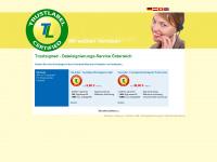 trustsigned.at Webseite Vorschau