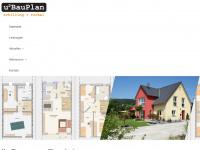 u2bauplan.de Webseite Vorschau