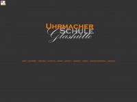 Uhrmacherschule-glashuette.de