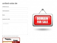 united-solar.de Thumbnail