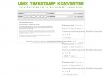 Unix-timestamp.de