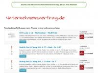 unternehmensvertrag.de Thumbnail