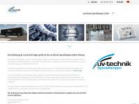 uv-technik.de Webseite Vorschau