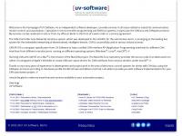 uv-software.de Webseite Vorschau