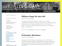 uvc-mank.at Webseite Vorschau