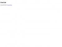 uvet.de Webseite Vorschau