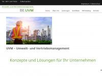 uvm-chemnitz.de Webseite Vorschau