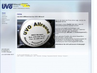 uvo-allround.ch Webseite Vorschau