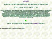 uvrg.de Webseite Vorschau