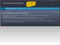 uvv-pruefung-ebert.de Webseite Vorschau