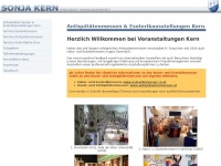 veranstaltungen-kern.at Webseite Vorschau