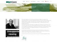vercon.at Webseite Vorschau