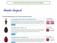vereintes-europa.de Webseite Vorschau