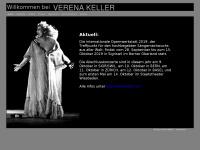 verena-keller.de Webseite Vorschau