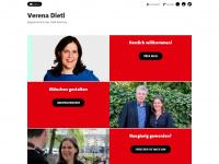 verena-dietl.de Webseite Vorschau