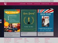 kino-hof.de Webseite Vorschau