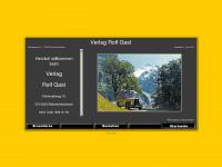 verlag-rolf-gast.ch Webseite Vorschau